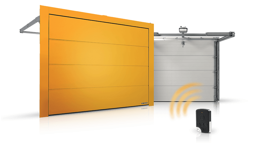 Sectional residential doors