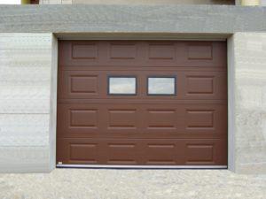 portone sezionale da garage